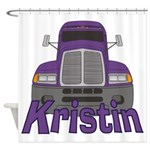 Trucker Kristin Shower Curtain