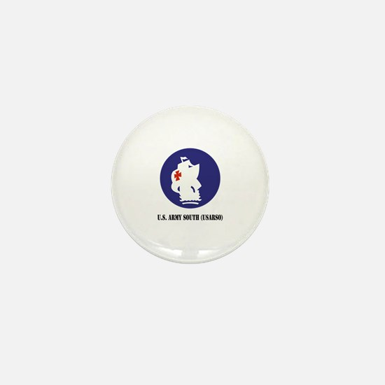 U.S. Army South (USARSO) with Text Mini Button