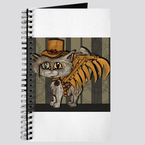 steampunk grey Mr Tipps Journal