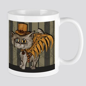 steampunk grey Mr Tipps Mug