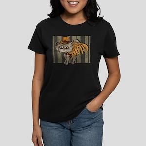 steampunk grey Mr Tipps Women's Dark T-Shirt