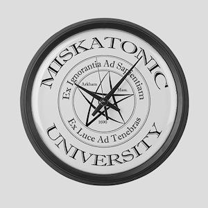 Miskatonic University Large Wall Clock