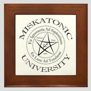 Miskatonic University Framed Tile