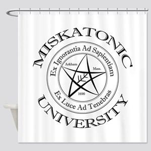 Miskatonic University Shower Curtain