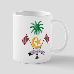 Maldives Coat Of Arms Mug