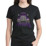Trucker Kristy Women's Dark T-Shirt