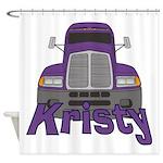 Trucker Kristy Shower Curtain