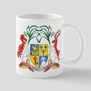 Mauritius Coat Of Arms Mug