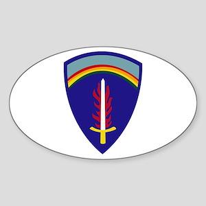 U.S. Army Europe (USAREUR) Sticker (Oval)