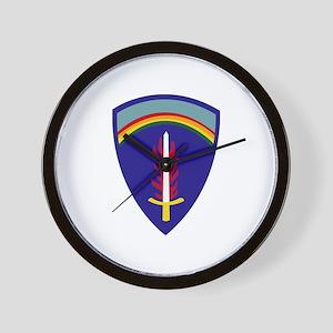 U.S. Army Europe (USAREUR) Wall Clock