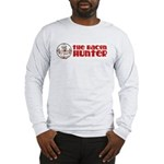 The Bacon Hunter Logo Long Sleeve T-Shirt