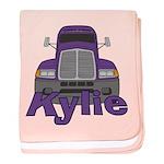 Trucker Kylie baby blanket