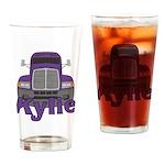 Trucker Kylie Drinking Glass
