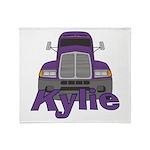 Trucker Kylie Throw Blanket