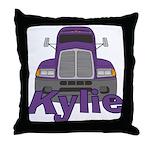 Trucker Kylie Throw Pillow