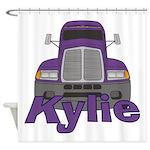Trucker Kylie Shower Curtain