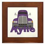 Trucker Kylie Framed Tile