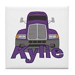 Trucker Kylie Tile Coaster