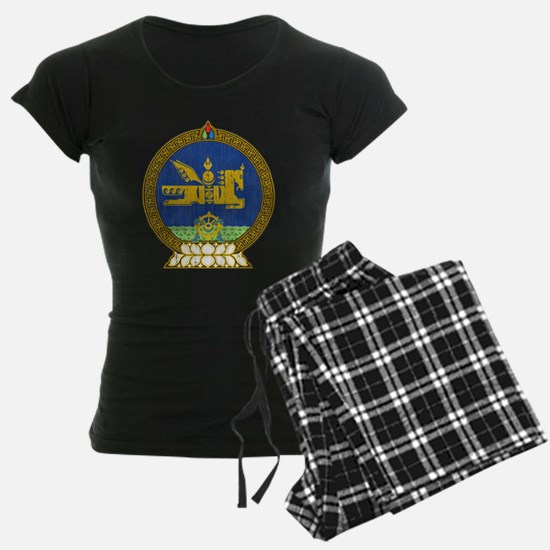Mongolia Coat Of Arms Pajamas