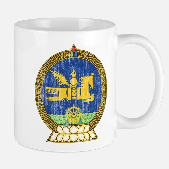 Mongolia Coat Of Arms Mug