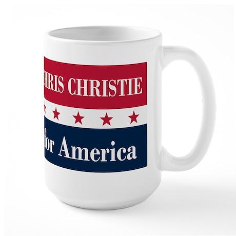 Chris Christie for America Large Mug