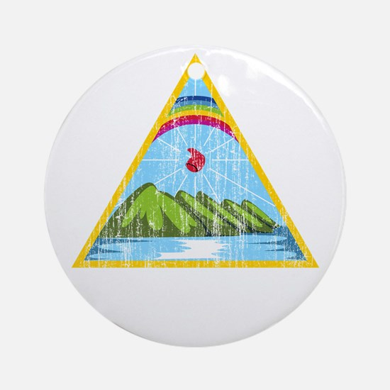 Nicaragua Coat Of Arms Ornament (Round)