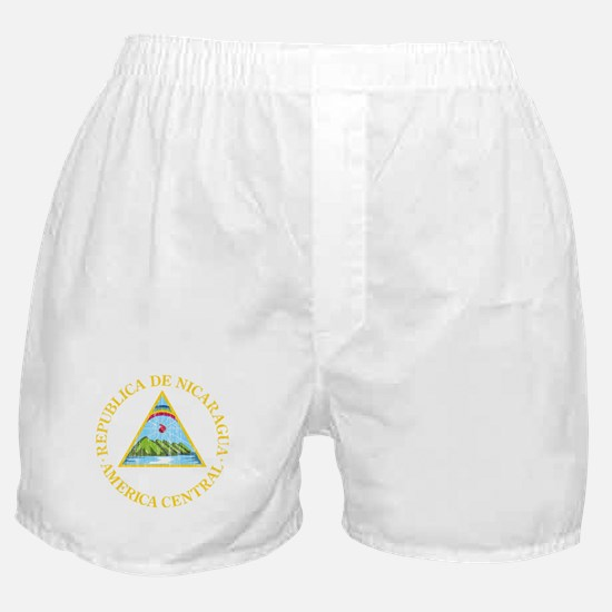 Nicaragua Coat Of Arms Boxer Shorts