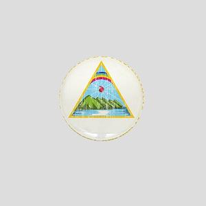 Nicaragua Coat Of Arms Mini Button