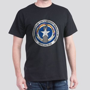 """Northern Mariana Islands Coat Of Arms"" Dark T-Shi"