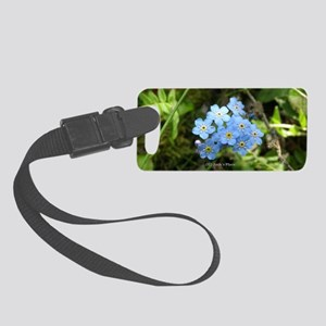 P7230069 Forgetmenot #01 Small Luggage Tag