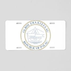 Palau Coat Of Arms Aluminum License Plate