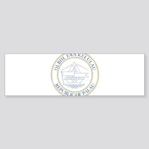 Palau Coat Of Arms Sticker (Bumper)