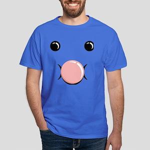 Bubble Blow Face Dark T-Shirt