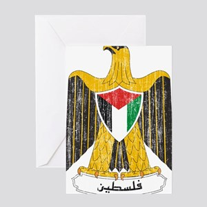 Palestine Coat Of Arms Greeting Card