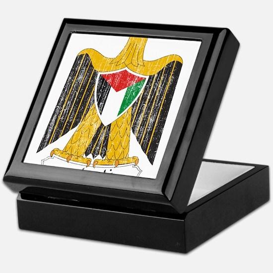 Palestine Coat Of Arms Keepsake Box