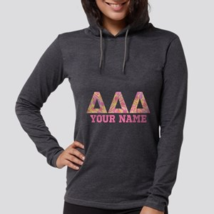 Delta Delta Delta Tropical Personalized Womens Hoo
