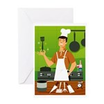 Ready To Cook Greeting Card
