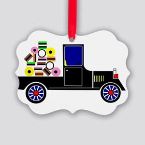 Virtual Cars Picture Ornament