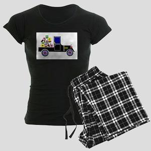 Virtual Cars Women's Dark Pajamas