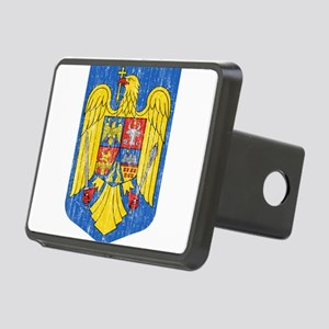 Romania Coat Of Arms Rectangular Hitch Cover