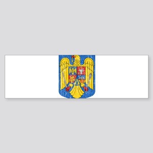 Romania Coat Of Arms Sticker (Bumper)