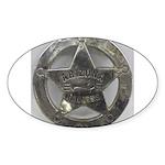 Arizona Rangers Sticker (Oval 10 pk)