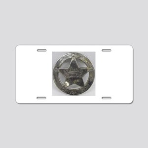 Arizona Rangers Aluminum License Plate