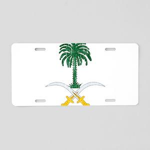 Saudi Arabia Coat Of Arms Aluminum License Plate