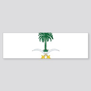 Saudi Arabia Coat Of Arms Sticker (Bumper)