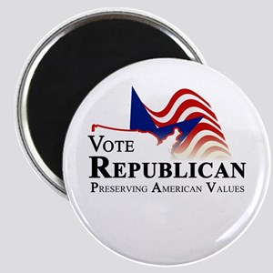 Vote Republican American Magnet