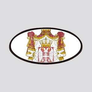 Serbia Coat Of Arms Patches