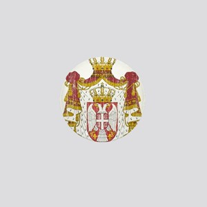Serbia Coat Of Arms Mini Button