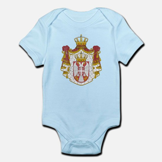 Serbia Coat Of Arms Infant Bodysuit