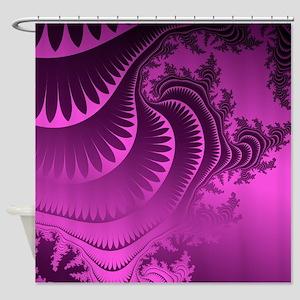Glorious5PurpleFrac Shower Curtain